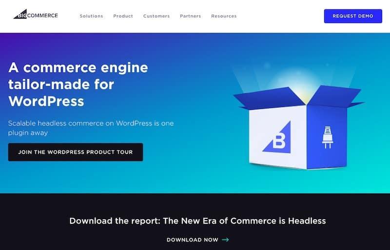 BigCommerce na stronie WordPress
