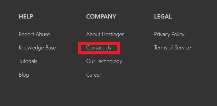 skontaktuj się z nami hostingu