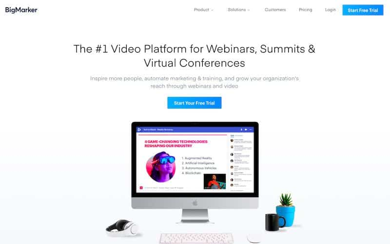 BigMarker: Oprogramowanie do seminariów internetowych