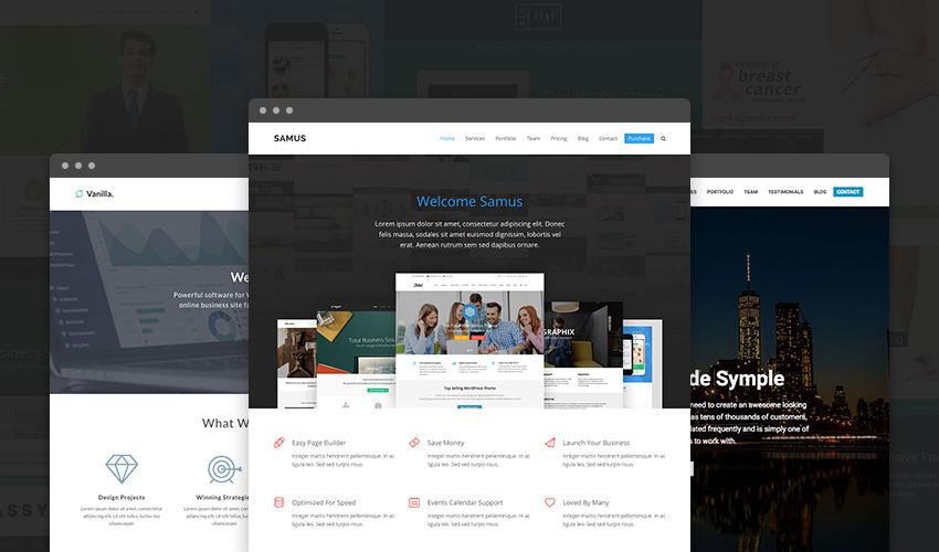 Całkowicie responsywny uniwersalny motyw WordPress