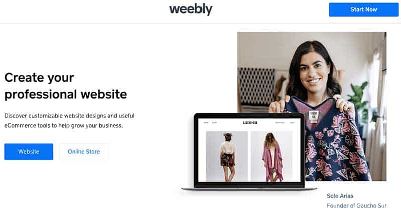 E-commerce Weebly