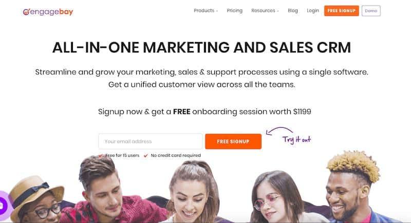 Engagebay: kompleksowy CRM do marketingu i sprzedaży