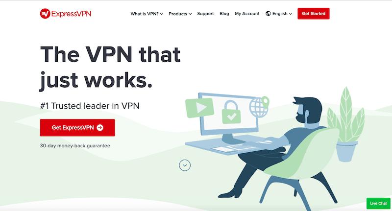 Najlepsze usługi VPN 2019: Express VPN