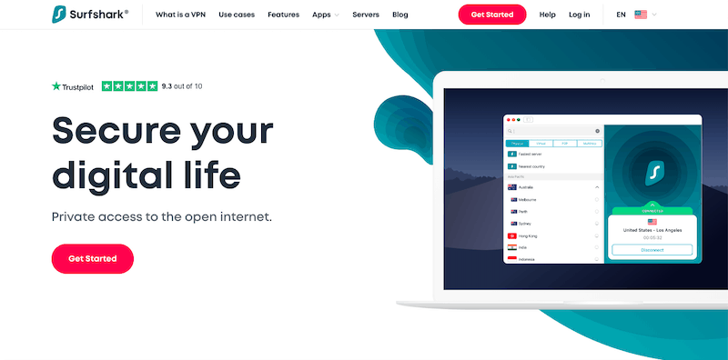 Najlepsze usługi VPN 2019: Surfshark VPN