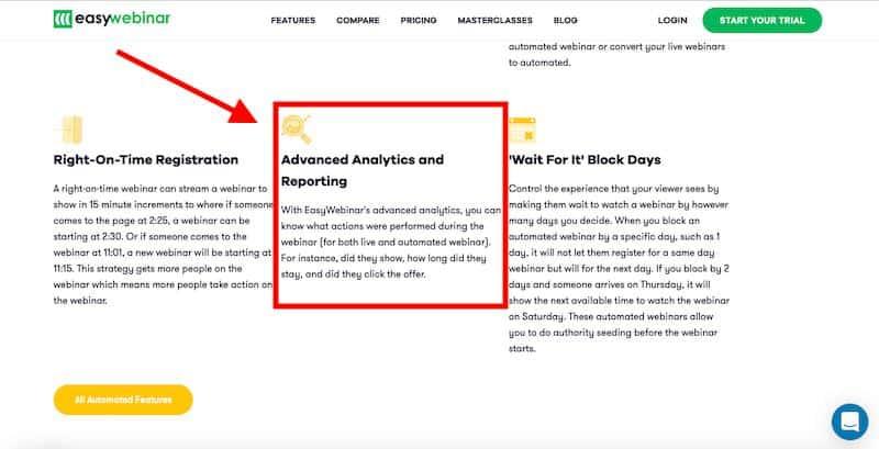 Narzędzia analityczne EasyWebinar