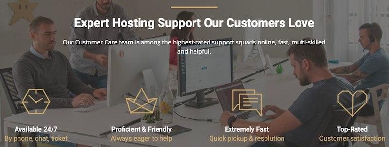 Obsługa klienta Siteground