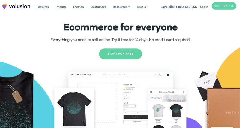 Platforma e-commerce Volusion