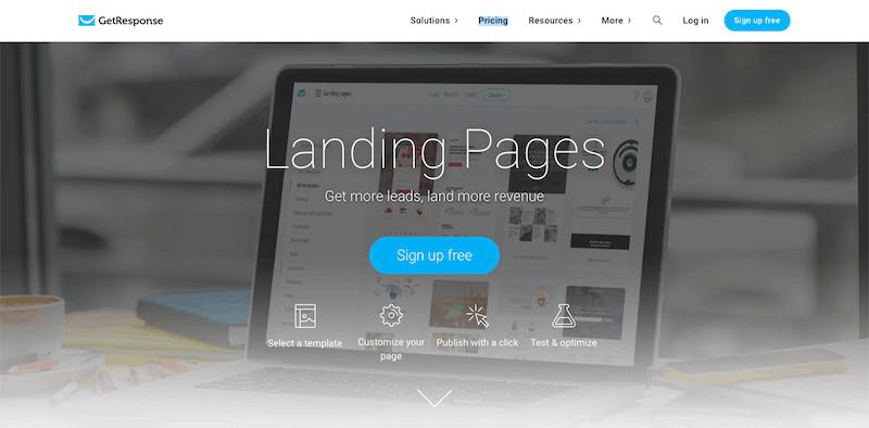 Landing Page - GetResponse