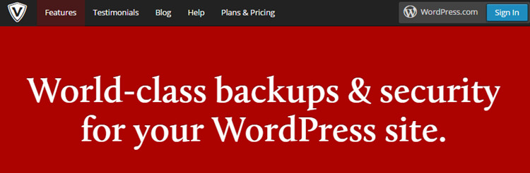 VaultPress dla WordPress