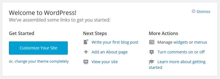 Witamy w WordPressie