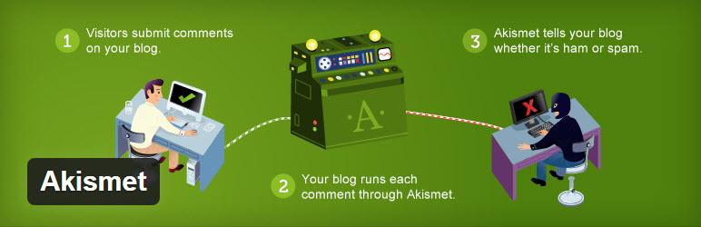 Wtyczka Akismet WordPress do ochrony przed spamem